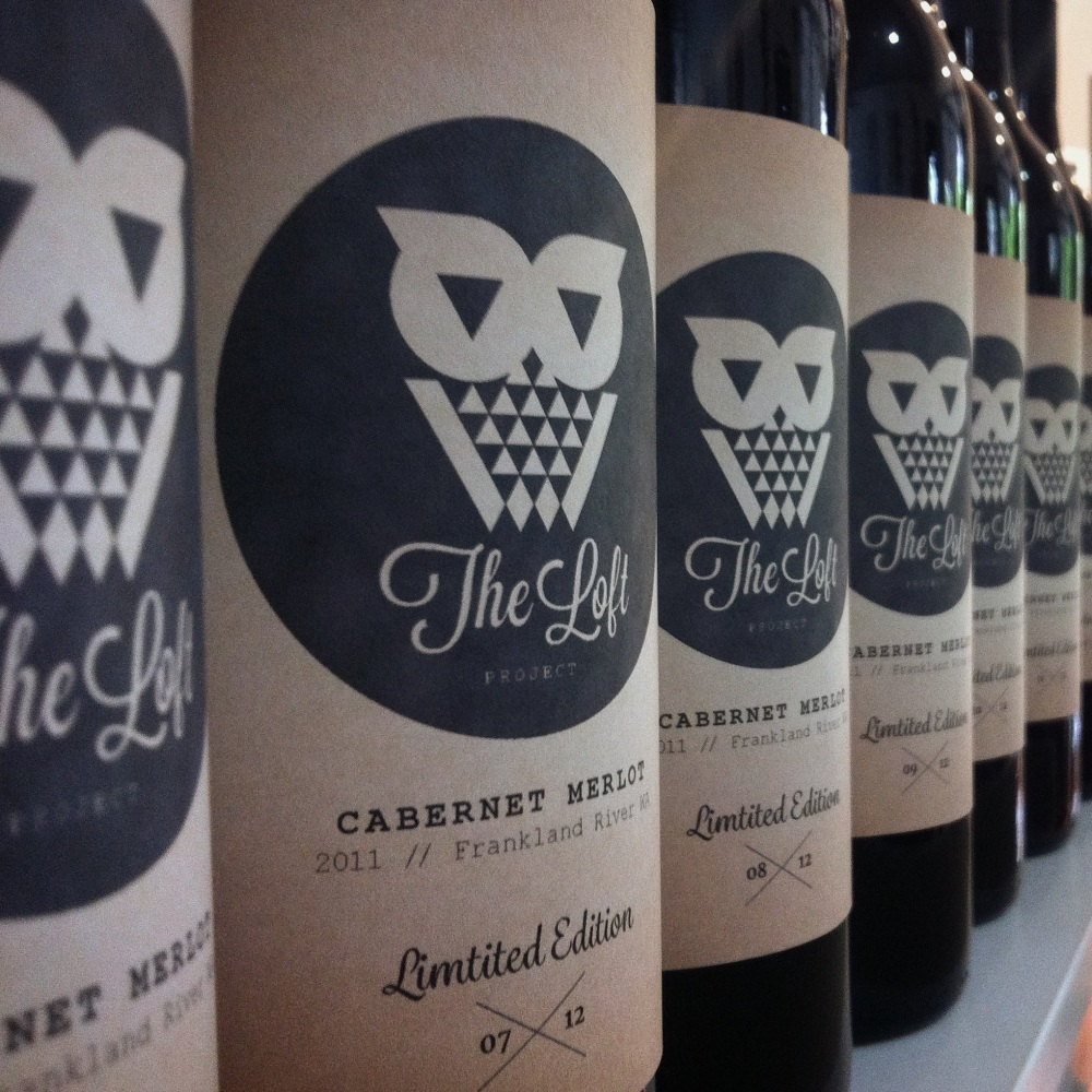 The Loft Project Wine Label