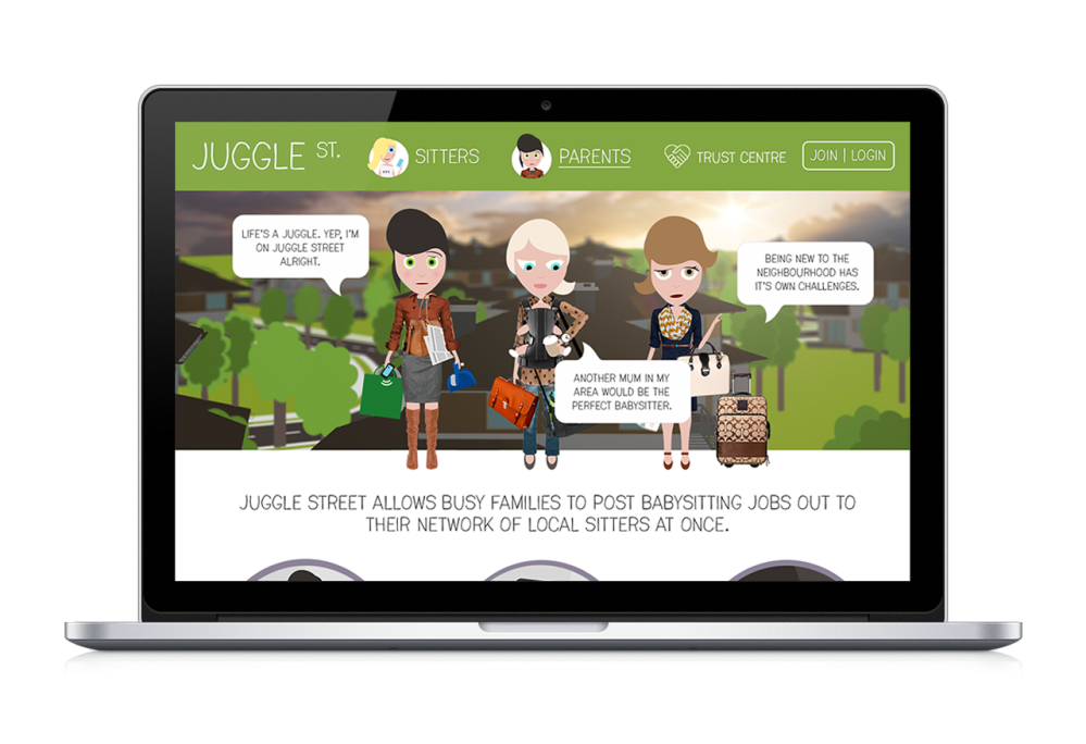 Juggle Street Desktop Website