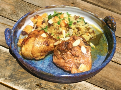 Slow Cooked Moroccan Chicken with Cauliflower Couscous