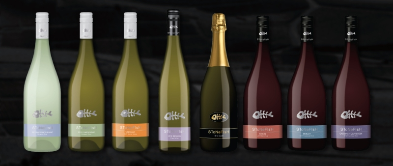 Stonefish Wines Rebrand